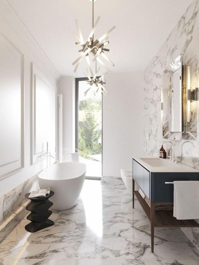 Glamorous And Exciting Luxury Bathroom Interior Decor
