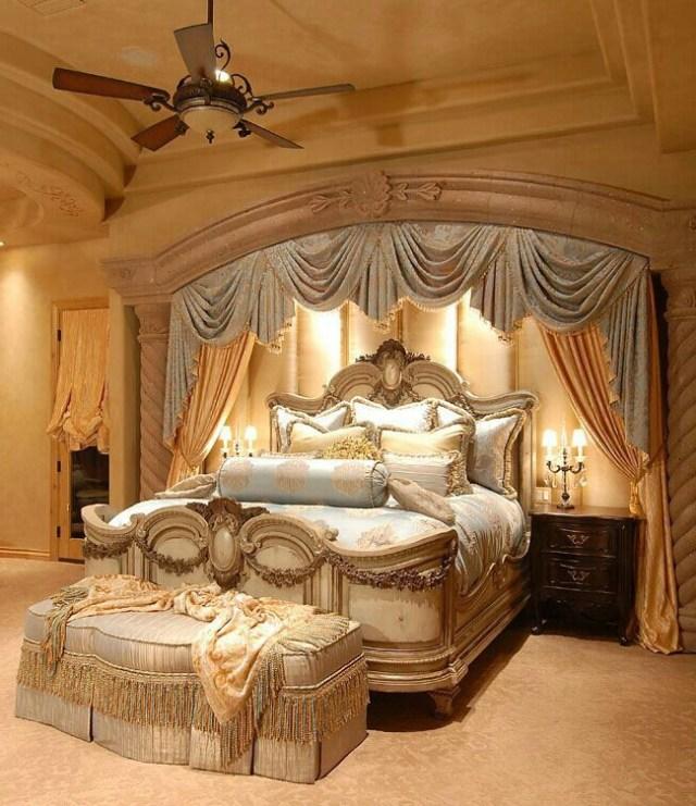 Glamorous Glorious Cozy Luxury Bedroom Master Elegant