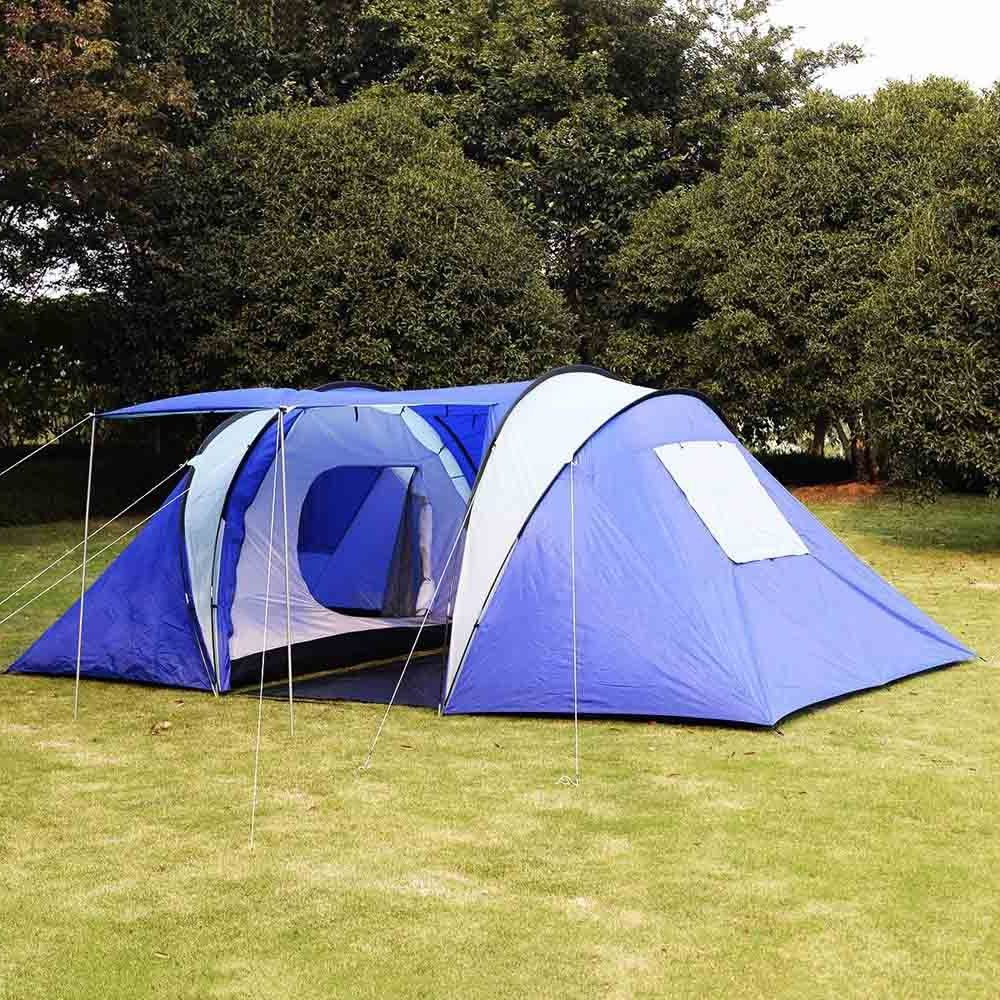 Goplus 21 Room 6 8 Persons Waterproof Tent Camping Family