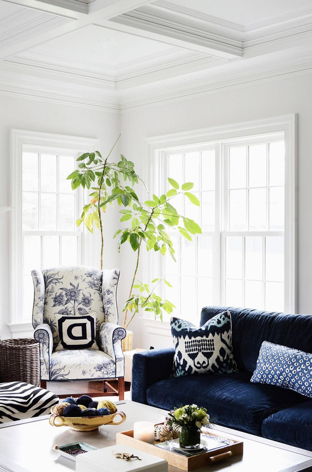 Gorgeous Blue Velvet Sofa Ideas For Your Living Room