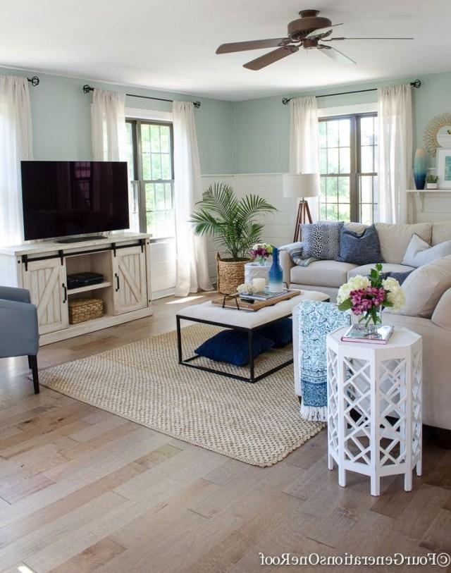 Gorgeous Brown Engineered Hardwood Family Room Reveal