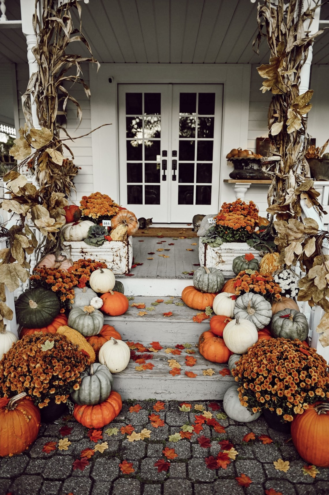 Gorgeous Front Porch Fall Decorating Ideas Remarkable Spaces