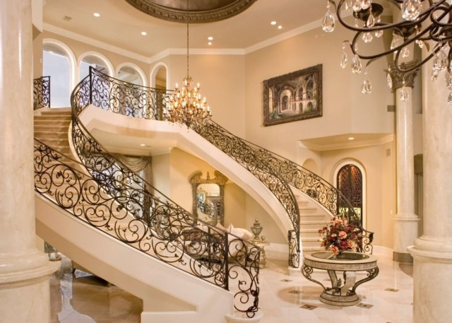 Grand Foyer With Images Staircase Design Double