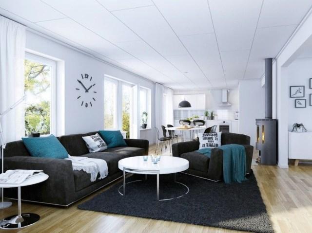 Grey And Aqua Living Room Living Room Designs Dark Gray