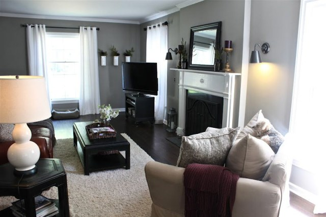 Grey Walls Like The Black Furniture This Is What I Want