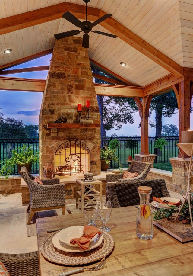 Hill Country Charm With Scandinavian Accents Outdoor