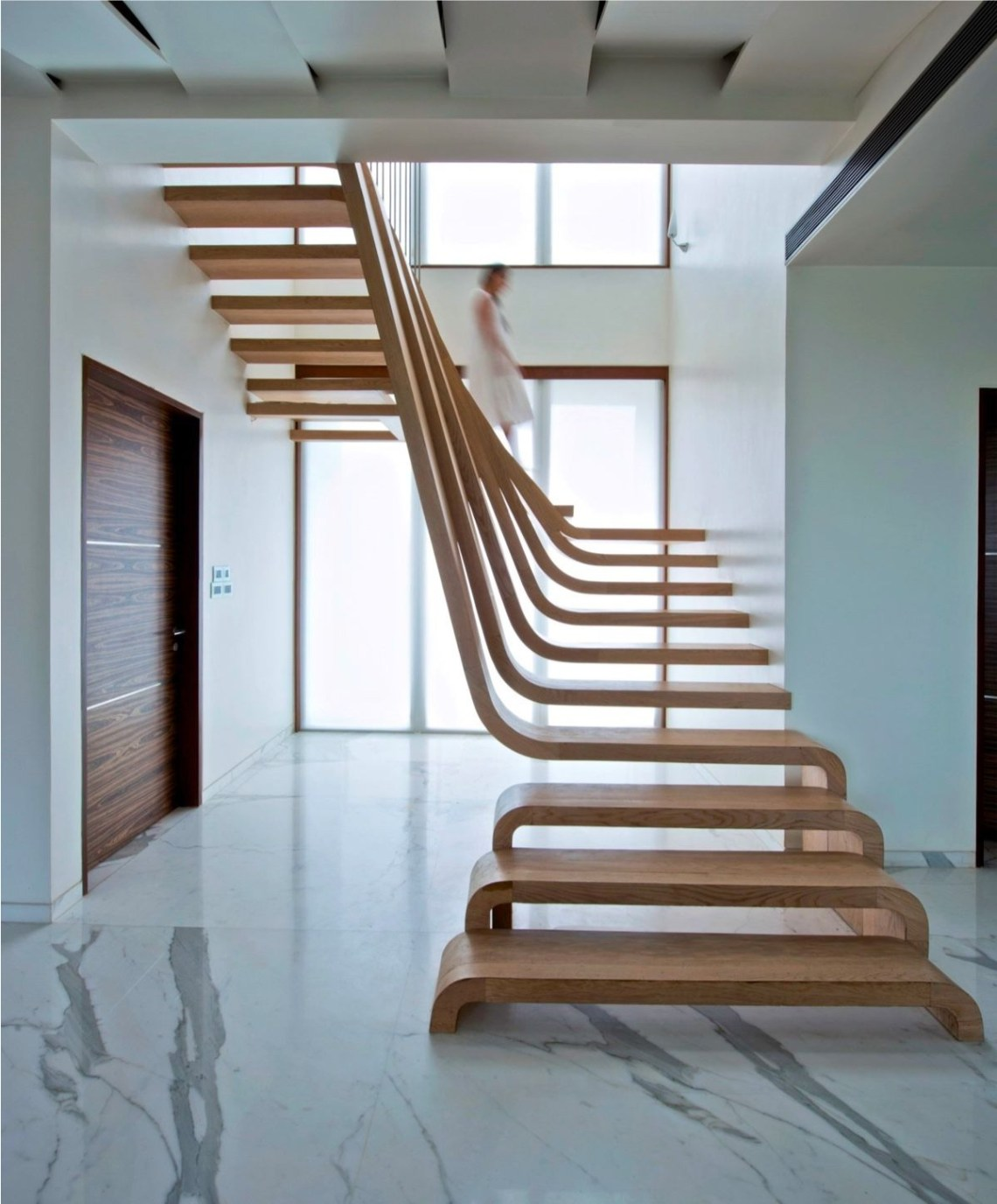 Homedesigning Via 25 Unique Staircase Designs To Take