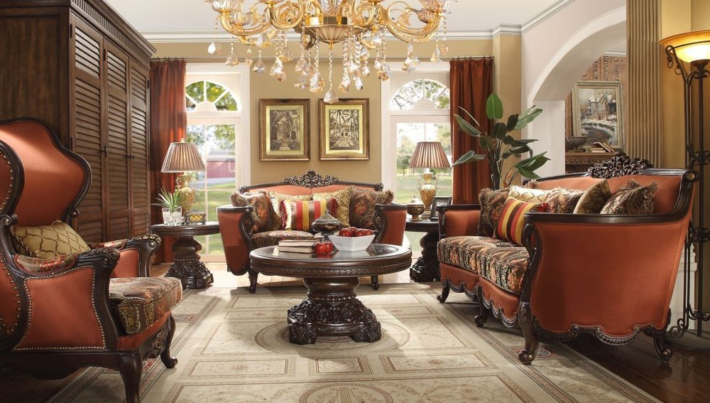 Homey Design Hd 13 Traditional Victorian Living Room