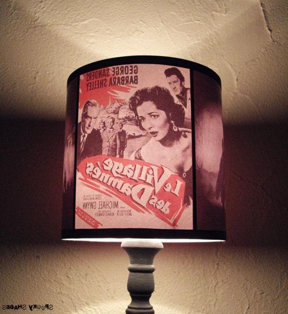 Horror Decor Lamp Shade Lighting Unique Lightdrum