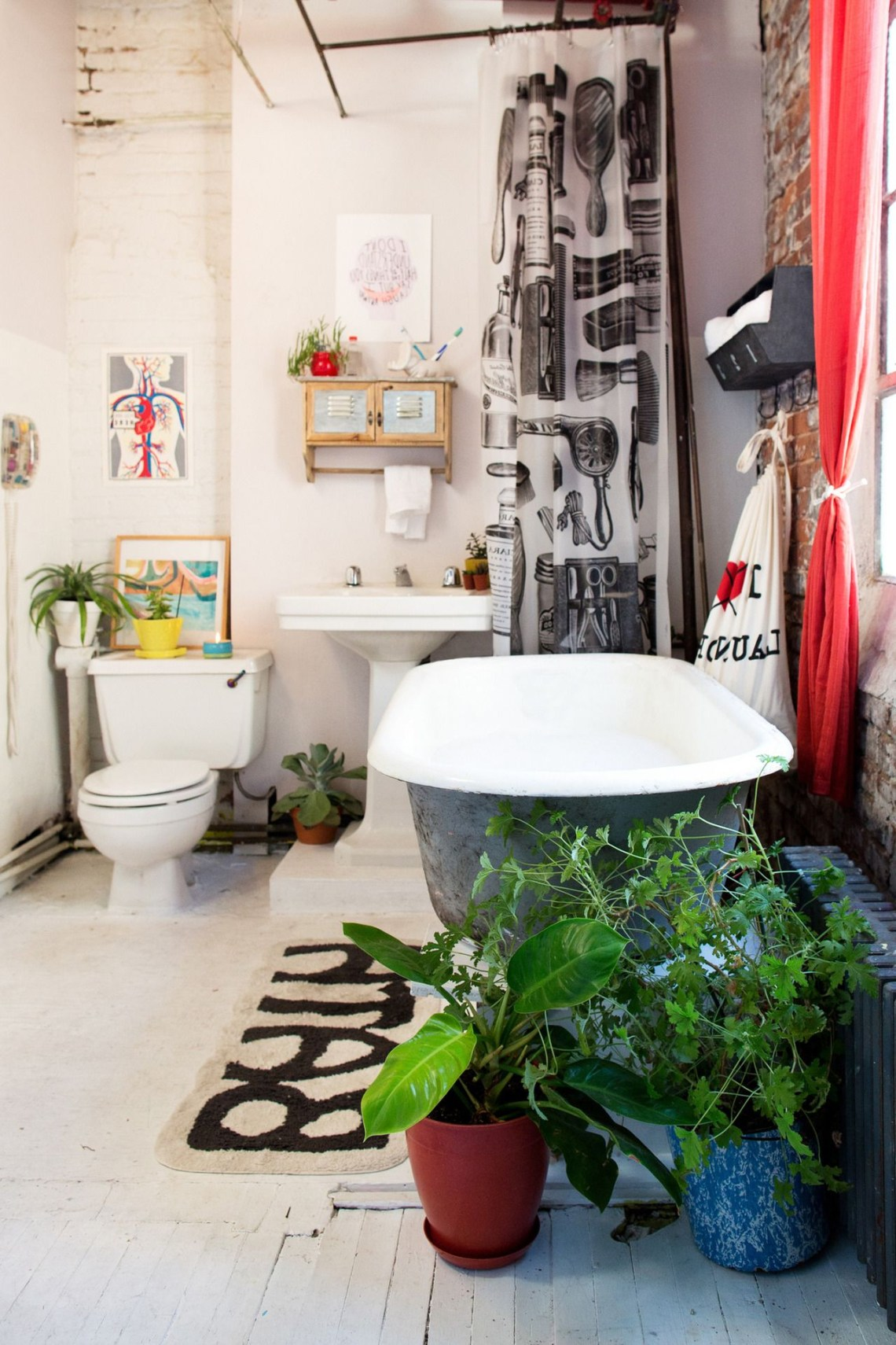 How To Make A White Apartment Bathroom Yours Mixed