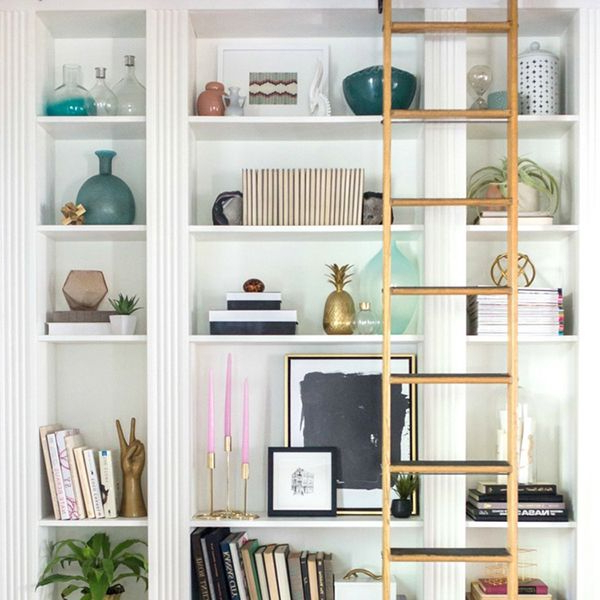 How To Style A Bookshelf Bookcase Styling Bookshelf
