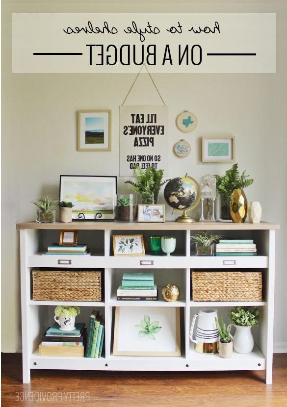 How To Style Shelves On A Budget Home Decor Home Decor