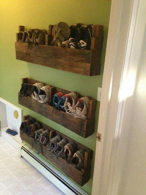 I Love This Great Way To Save Space With A Little Rustic