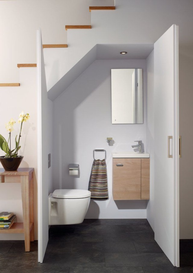 Ideal Standard Concept Space Bathroom Under Stairs