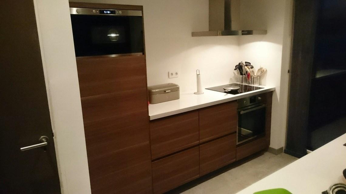 Ikea Voxtorp Walnut Kitchen Ikea Kitchen Cabinets