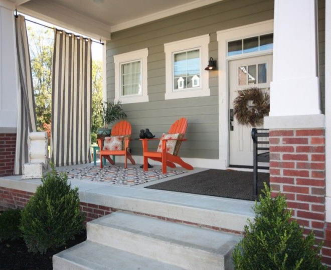 Impressive Pier One Rugs Mode Indianapolis Craftsman Porch