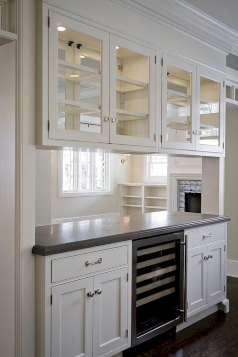 Incredible Kitchen Design With Stainless Kitchen Cabinets