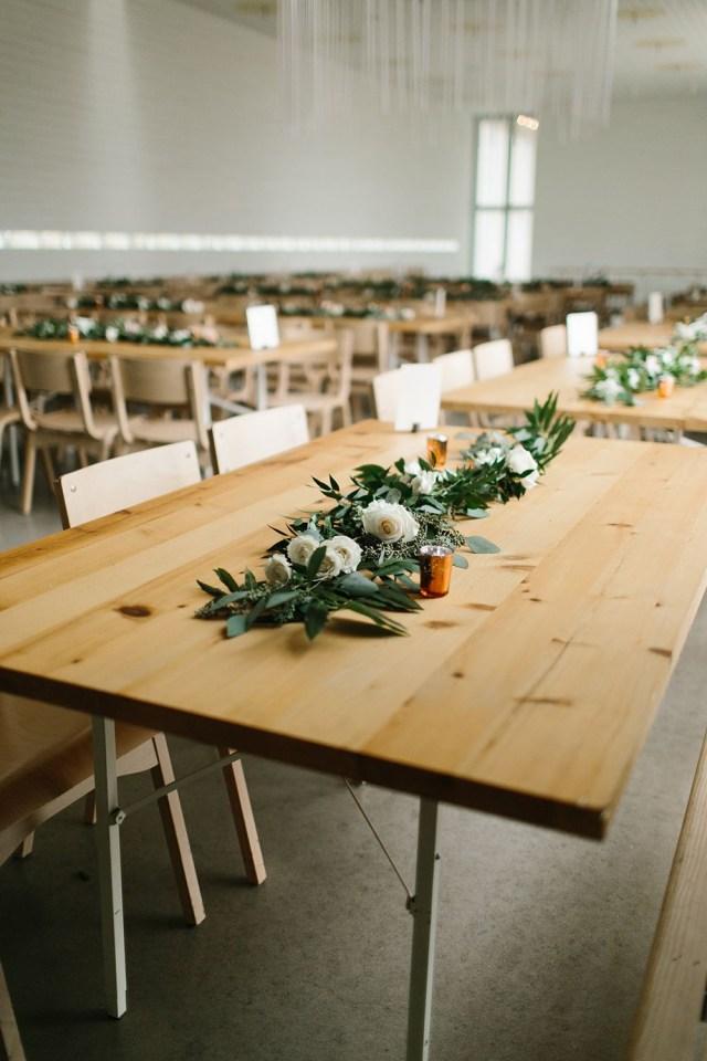 Industrial Texas Wedding With Romantic Minimalism