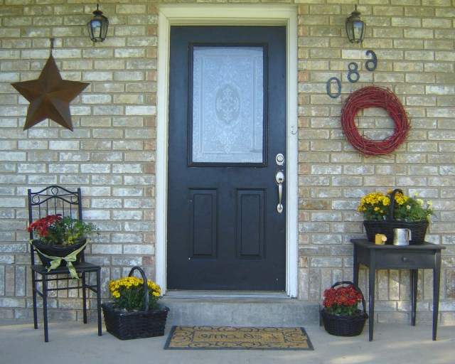 Inexpensive Simple Front Porch Ideas From Home Hinges