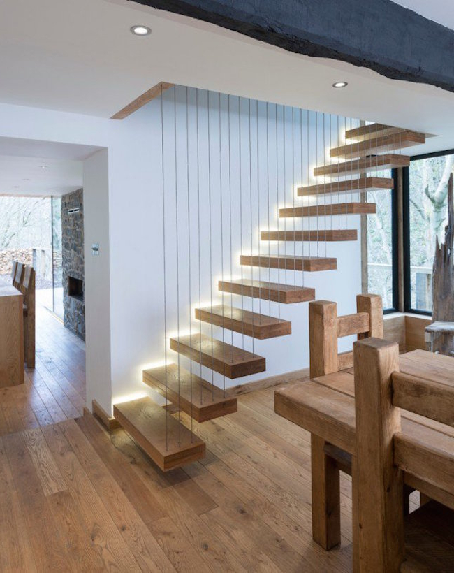 Inspirational Contemporary Staircase Designs Interior God
