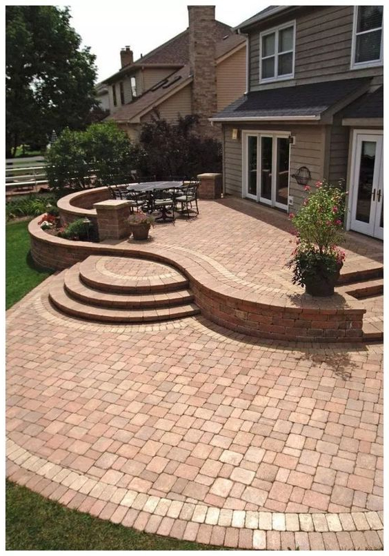 Inspiring Brick Patio Ideas For Captivating Look With