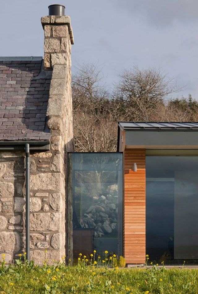 Inspiring Old Cottage Rehabilitation In Scotland The