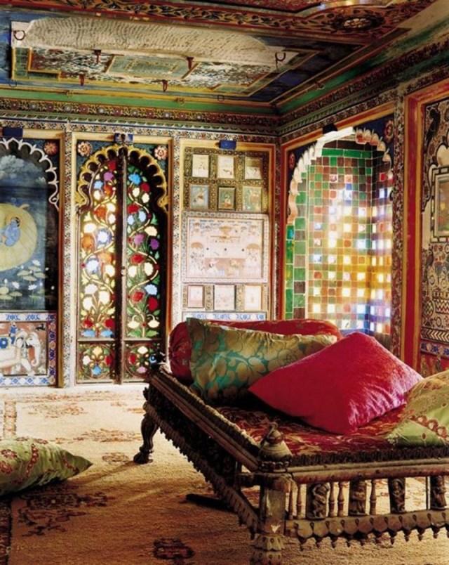 Interior Beautiful And Comfortable Moroccan Interior