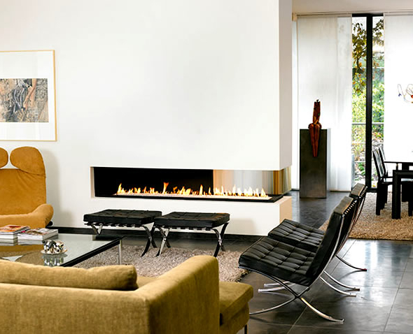 Interior Design With Modern Contemporary Two Sided