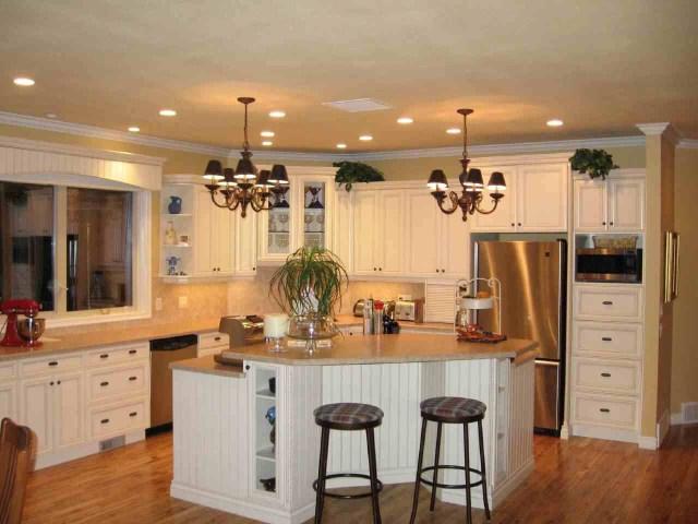 Interior Minimalist L Shape Kitchen Country Style