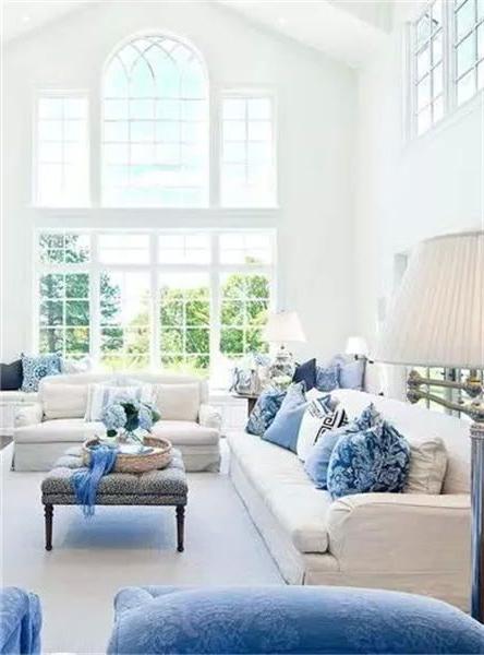 Interiors Inspiration Beautiful Blues Breakfast With