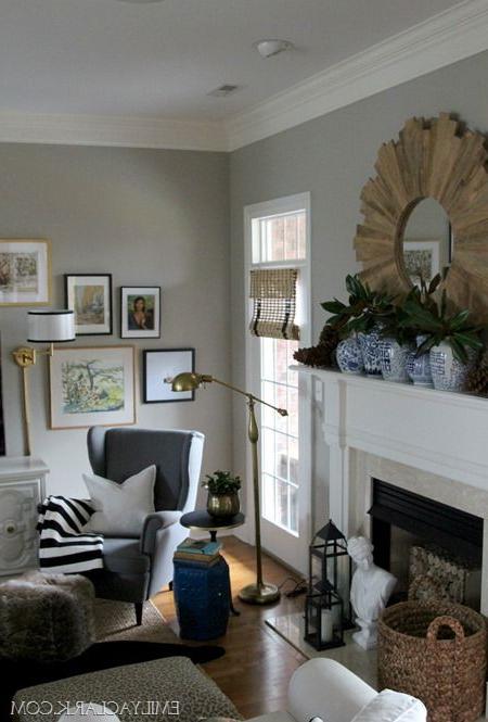 January Decorating Winter Living Room Living Room Grey