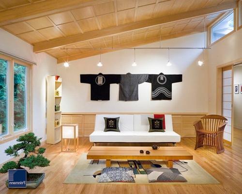 Japanese Living Room Interior Designs Elegant Living