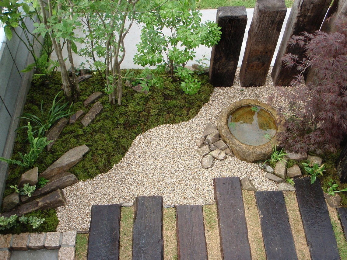 Japanese Style Garden Accent Small Japanese Garden Zen