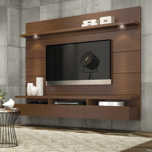 Julius Floating Entertainment Center For Tvs Up To 60