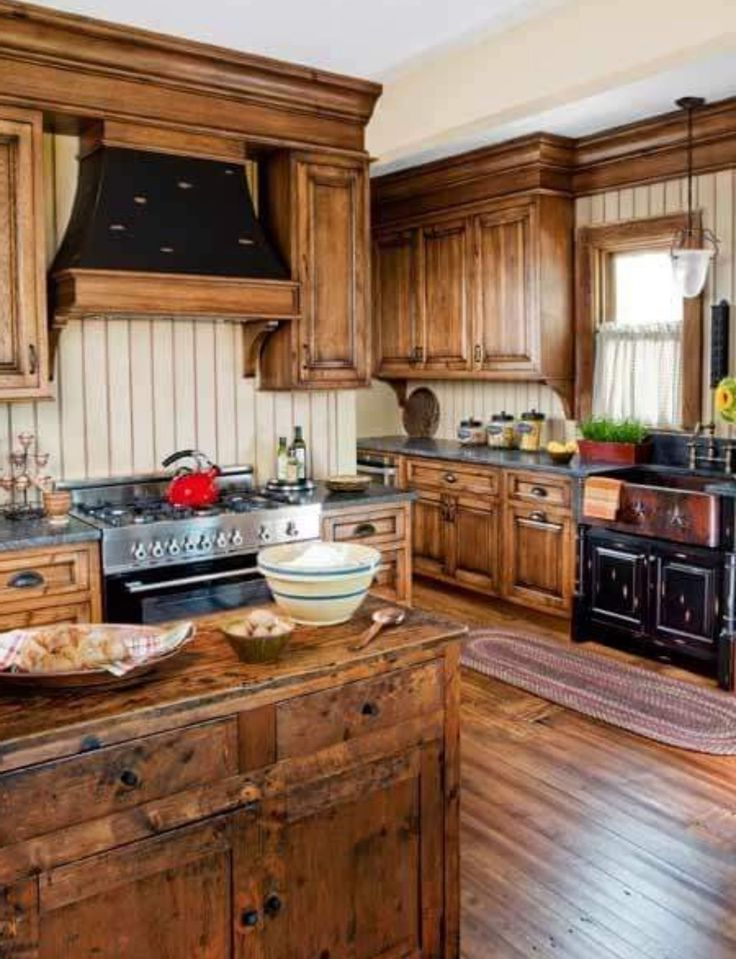 Kitchen Rustic Woods Kitchen Cupboard Designs Hickory