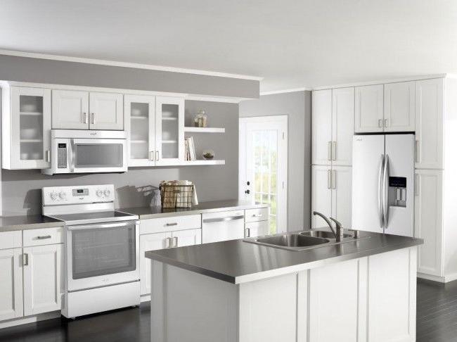 Kitchen Throw Down White Ice Vs Stainless Steel Remodeling White Kitchen Appliances