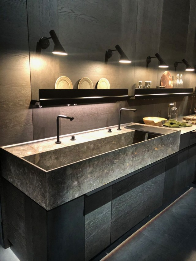 Large Kitchen Sink Eurocucina 2018 At Salone Del Mobile