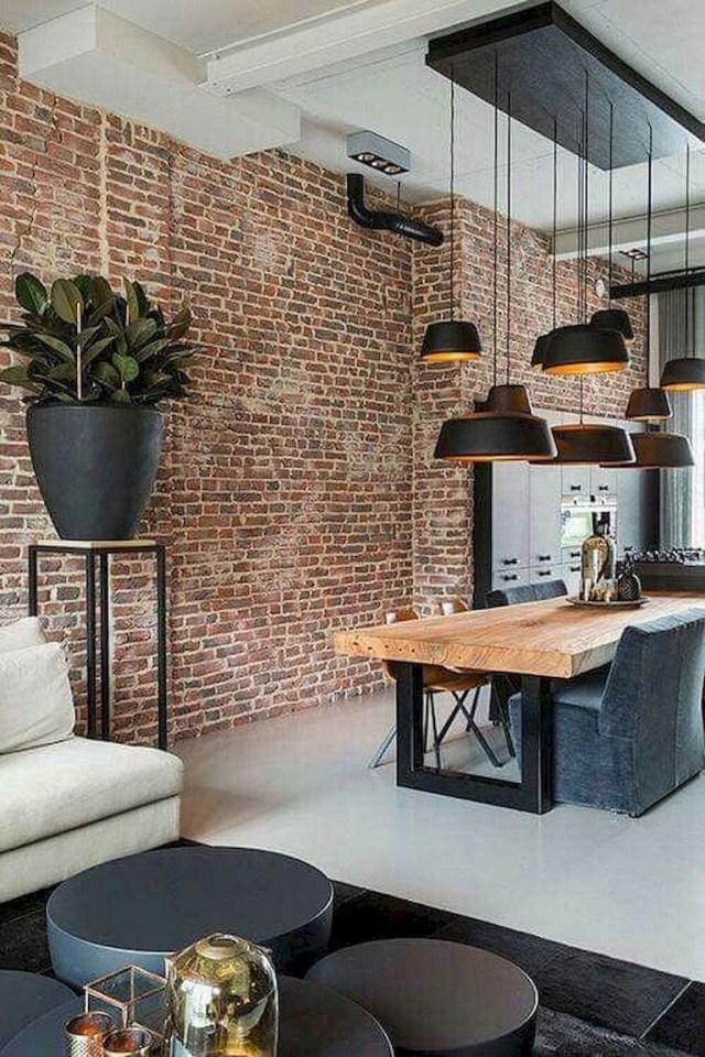 Lifely Design 70 Fire Brick Wall For Home Interior Ideas