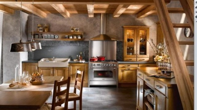 Little French Country Kitchens Rustic French Kitchen