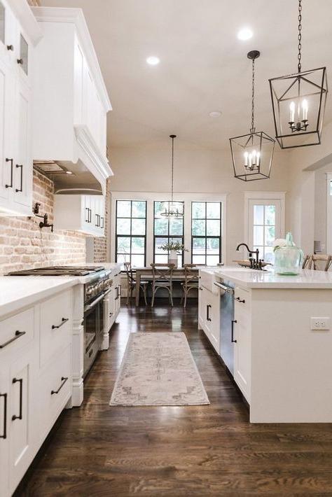 Love This Simple Clean White Trendy Kitchen Kitchen
