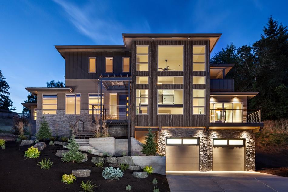 Luxurious Multi Level House With Elevator And Custom Dog