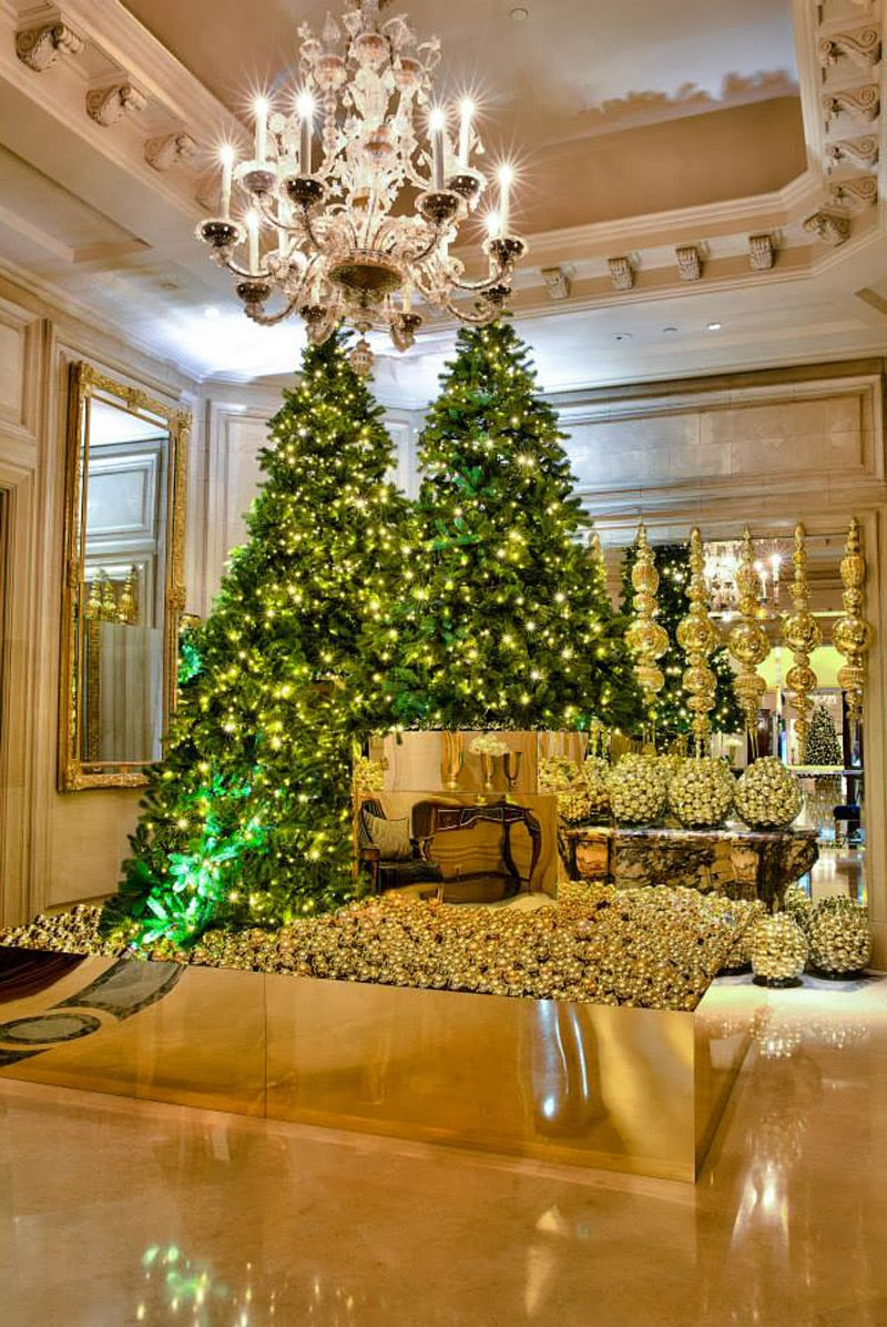 Luxury Life Design Amazing Christmas Tree At Four Seasons
