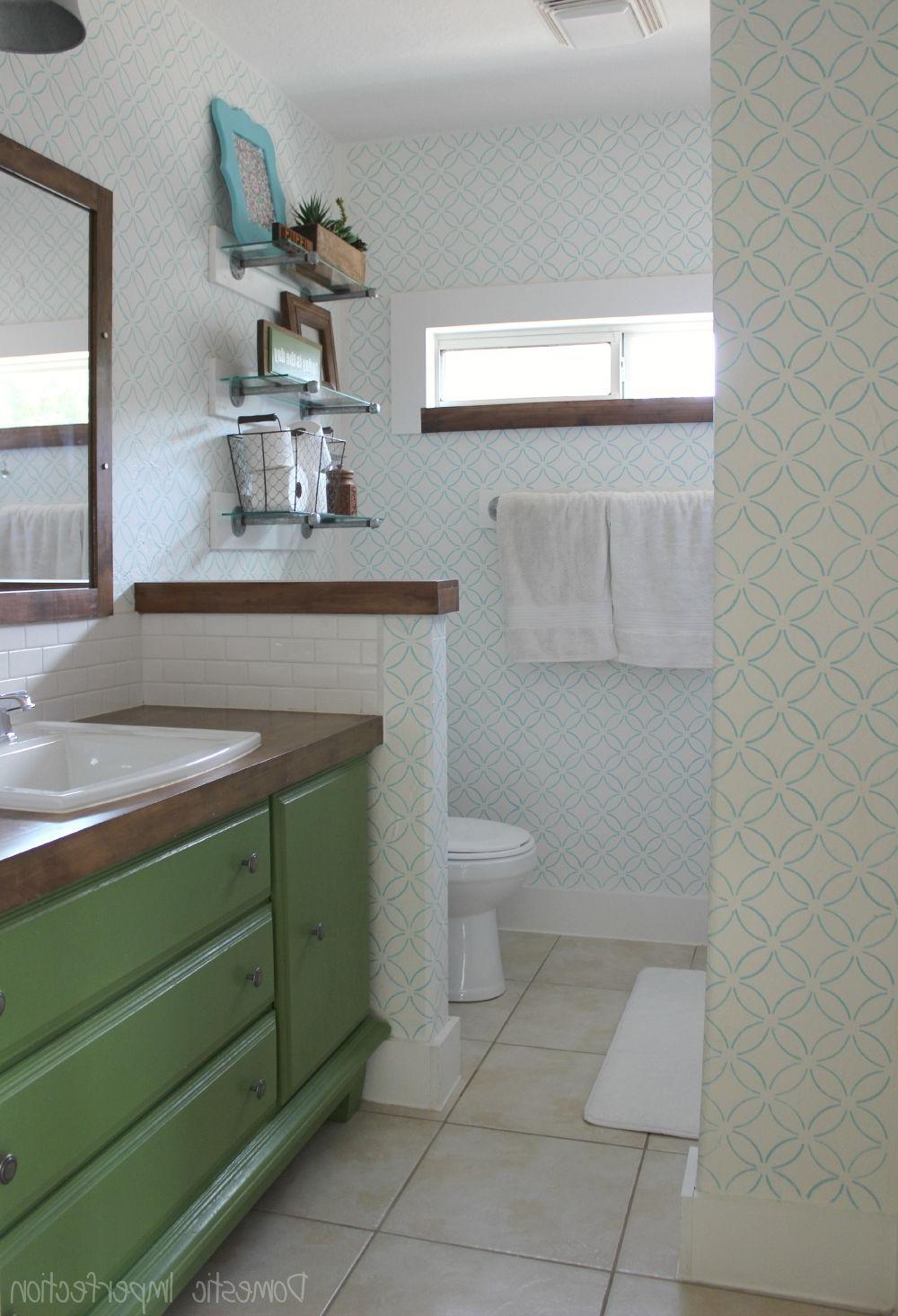 Master Bathroom Reveal Budget Bathroom Remodel Cheap