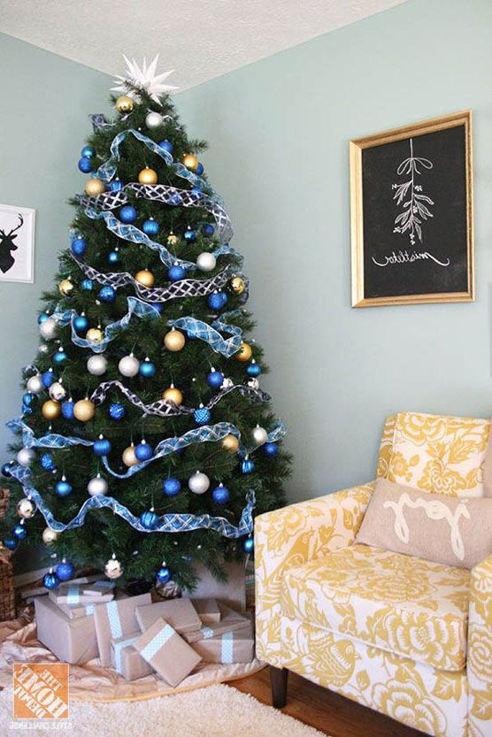 Mesmerizing Blue Christmas Tree Decorations Christmas