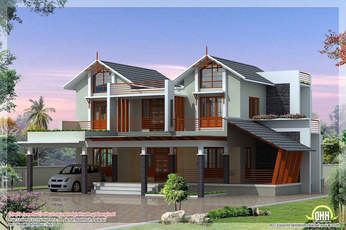 Modern And Unique Villa Design House Design Plans