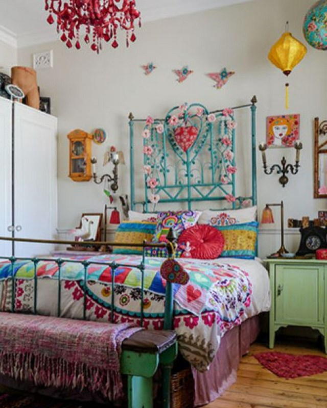 Modern Bohemian Bedroom Decor Ideas Bohemian Lifestyle