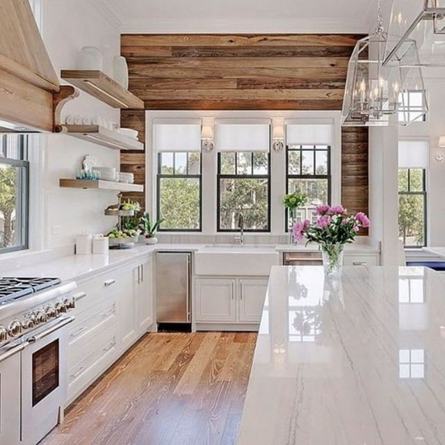 Modern Farmhouse Kitchen Decorating Ideas European Home