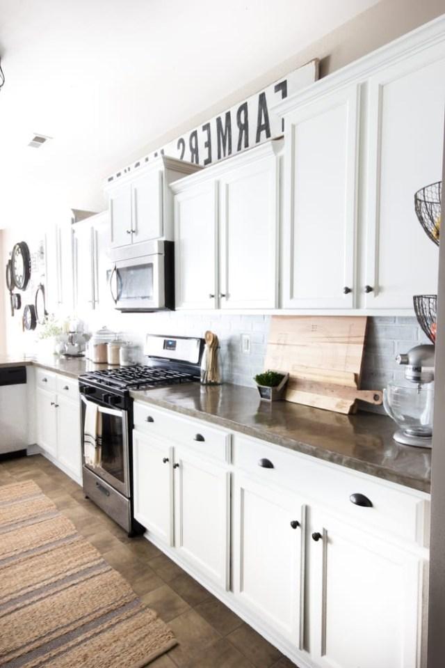 Modern Farmhouse Kitchen Makeover Reveal Blesser House