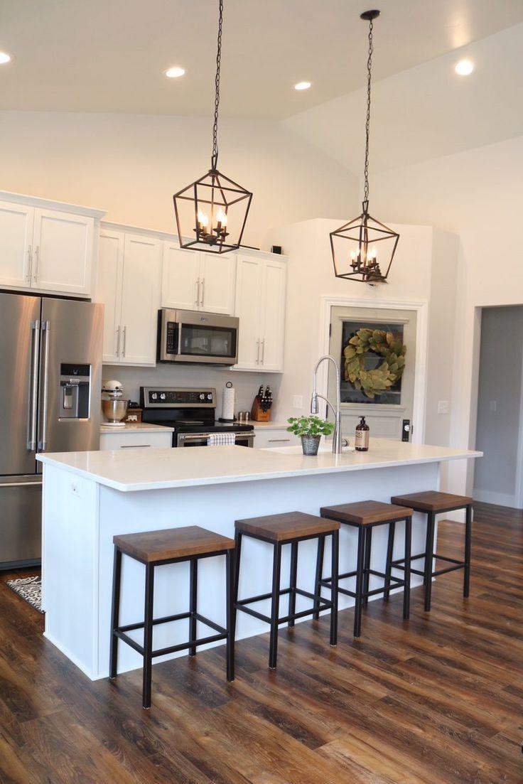 Modern Farmhouse Kitchen Reveal Kitchen Design Open Modern Farmhouse Kitchens Modern Kitchen