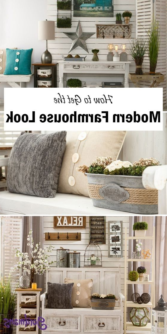 Modern Farmhouse Modern Decor Modern Country Rustic